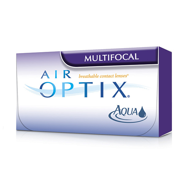 Air Optix Aqua Multifocal (3 линзы)